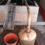 Copper still and cooling tank