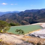 The pool at Hierve el Agua