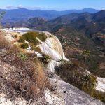 Hierve el Agua's mineral deposits