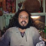 Leon Langle, the bartender at Los Amantes in Oaxaca.