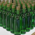 Del Maguey bottles awaiting labels