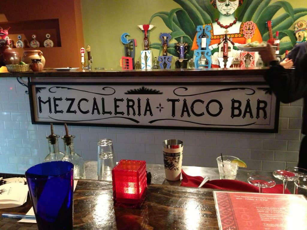 The Mezcaleria at Mayahuel