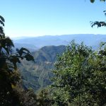 The view in the Sierra Norte