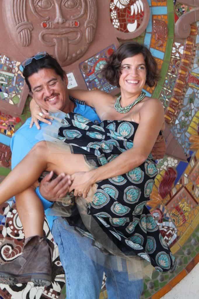 Rachel and Noel. Courtesy of Alfonso Hernandez Segovia.