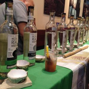 The Real Minero, Rey Campero, Mezcaloteca line up.