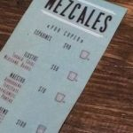 Mezcal price list in Mezcalogica