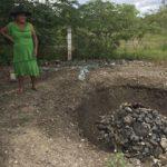 Reyna Sanchez in her palenque