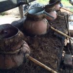 Clay pots in Sola de Vega