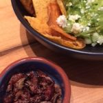 Guacamole with a side of chapulines