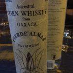 The Ancestral Corn Whiskey bottle