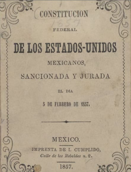 Mexican Constitution of 1857