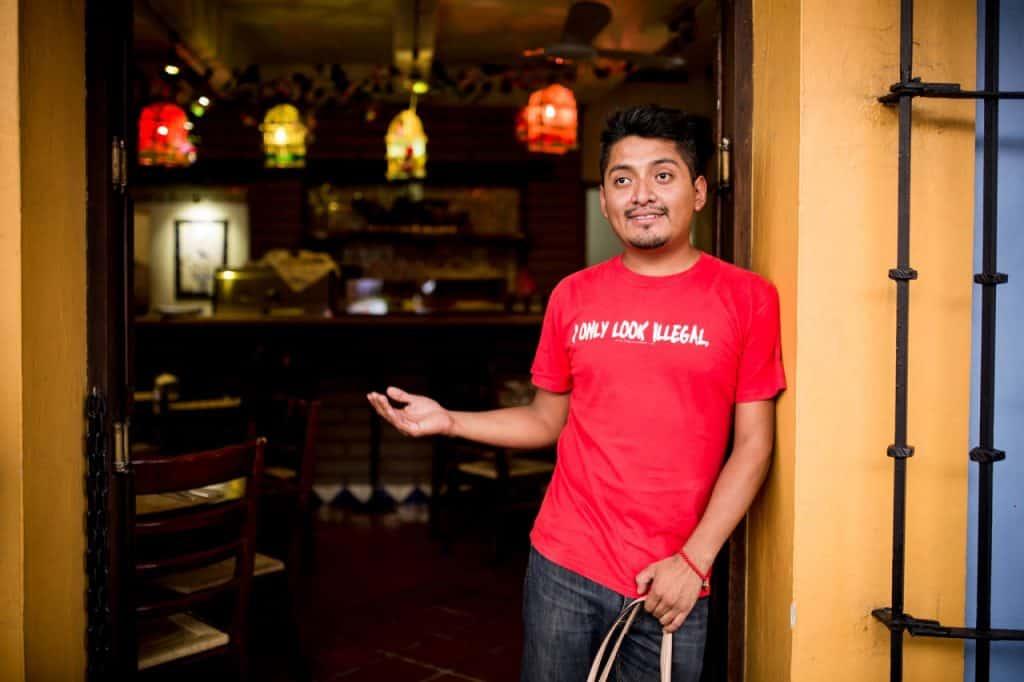 Omar Alonso from his blog, Oaxacking.