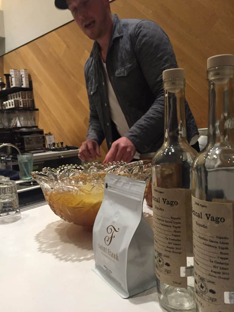 Joel of Bar Worthy and his terrific punch.