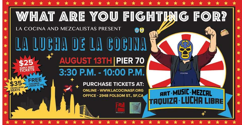 Cocktails, beer, mezcal and more – this Lucha is going to rock!