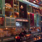 The bar at Casa Mezcal