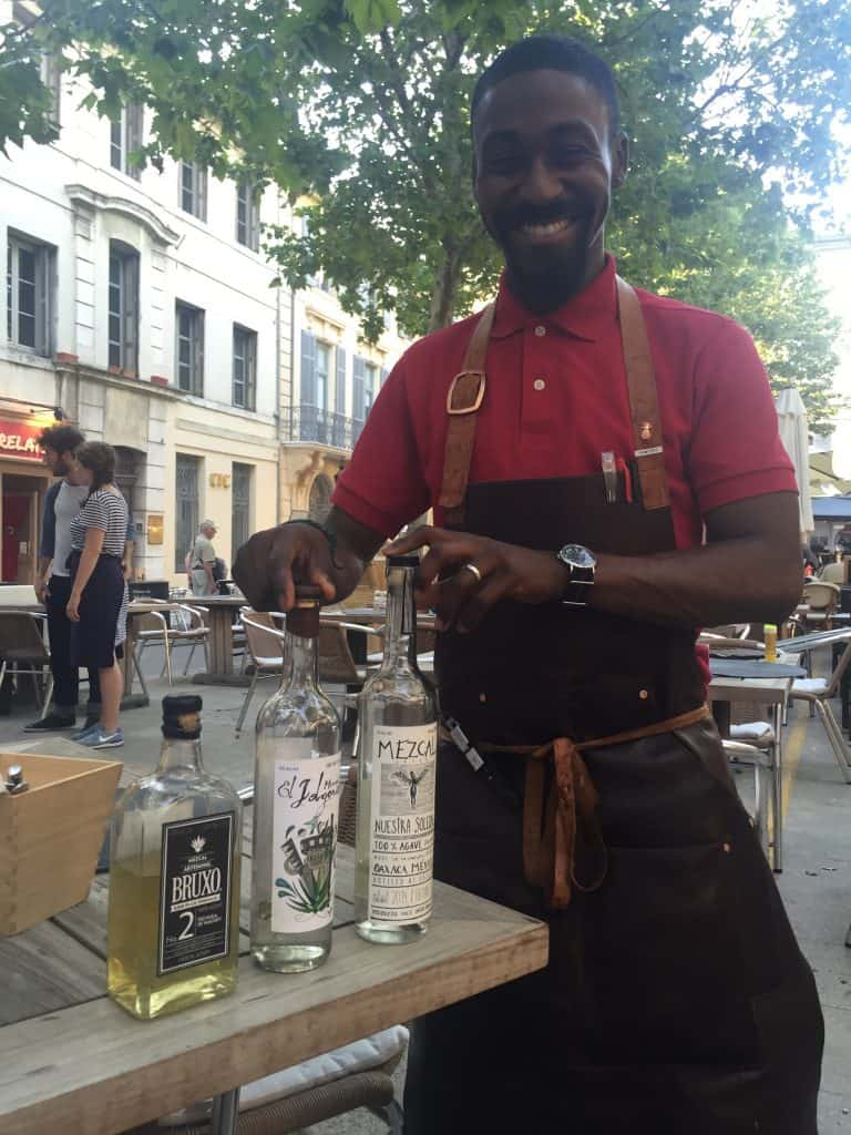Dimitri from Chardon in Arles loves his mezcal.