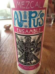 The front label of the San Andres Ensamble.