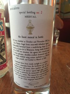 Mezcalero Special Bottling No. 2