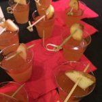Apple cider mezcal cocktail
