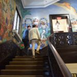 The Mexican Cultural Institute staircase
