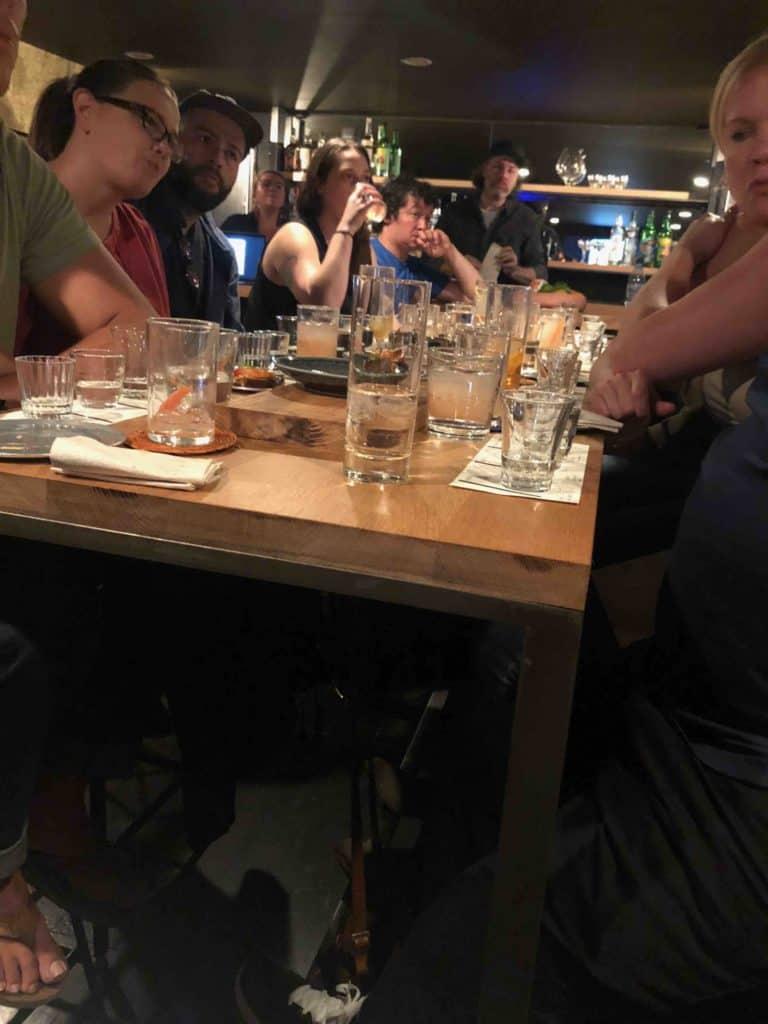 Marco Ochoa tasting at ABV