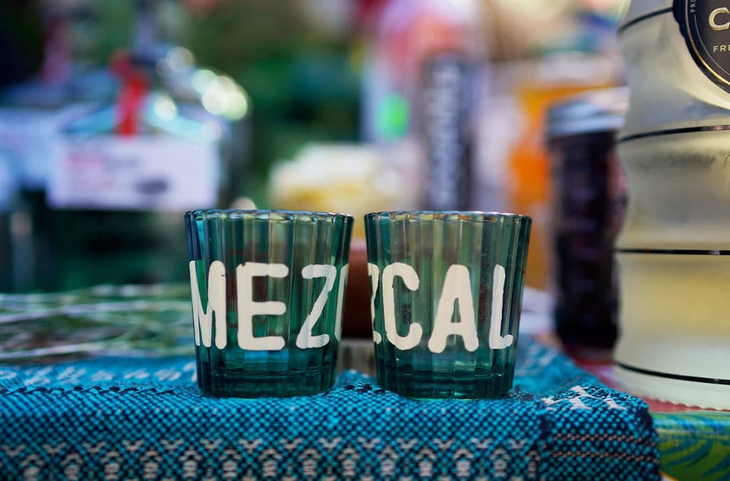 Bathing the streets of New York with mezcal