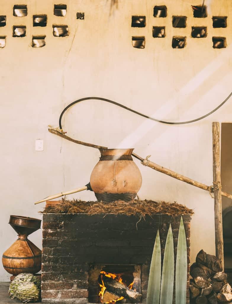 Wahaka's clay still