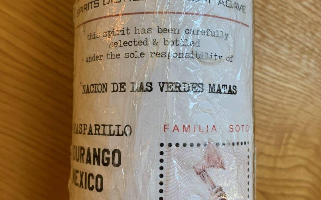 Nación de las Verdes Matas Familia Soto Tasting Notes