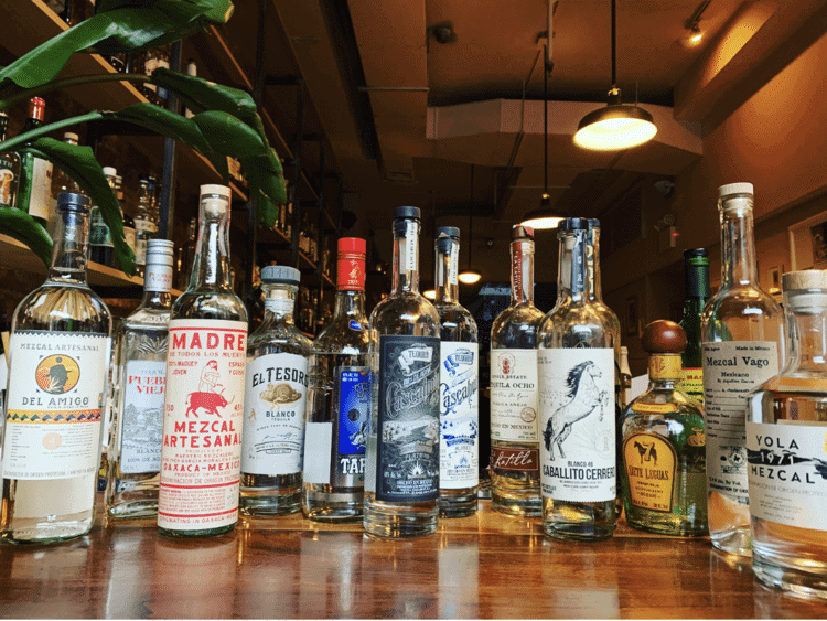 A mezcal tasting flight grows in Brooklyn